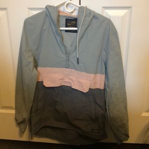 URBAN OUTFITTERS ✰ color block windbreaker